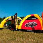 Надувная палатка
