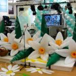 Надувные цветы гирлянды