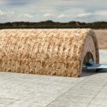 пневмокаркасный ангар, Надувной ПВХ ангар, пневмоангар НЕБО, hangar inflatable