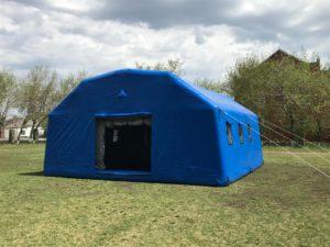 Пневмокаркасные модули, пневмомодуль, надувной модуль, модуль мчс, надувнойгоспиталь, надувные жилые палатки, мобильный надувной модуль