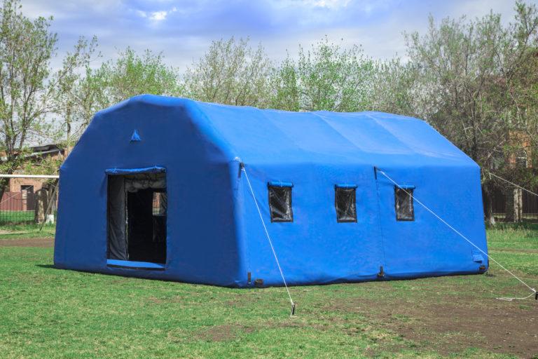 Пневмокаркасные модули, пневмомодуль, надувной модуль, модуль мчс, надувной госпиталь, надувные жилые палатки, мобильный надувной модуль