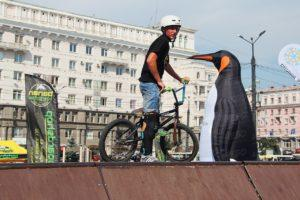 Надувные фигуры, императорский пингвин