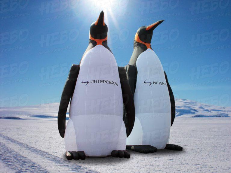императорский пингвин, надувной пингвин, надувные пингвины, надувная фигура пингвин,