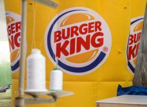надувная корона burger king