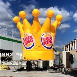 надувная корона бургер кинг