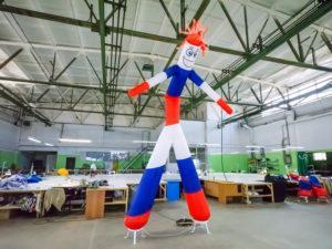 аэромен триколор танцует