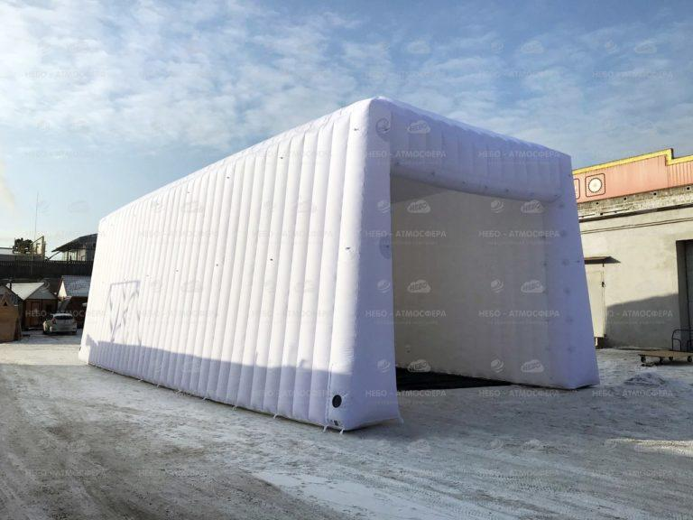 надувной гараж, надувной ангар гараж, надувной ангар под гараж, надувной гараж для автомобиля, пневмогараж, пневмокаркасный гараж