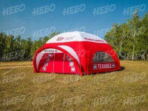 Палатка 6-опорная с герметичным пневмокаркасом