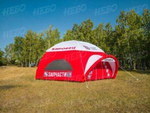 Палатка шестиопорная с герметичным каркасом