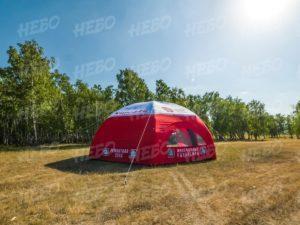 Палатка шестиопорная с герметичным пневмо каркасом