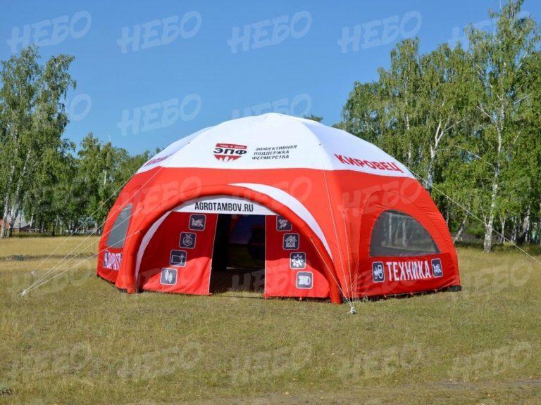 Палатка шестиопорная с герметичным пневмокаркасом, надувная палатка с каркасом, палатка с герметичным каркасом, шатер с герметичным пневмокаркасом