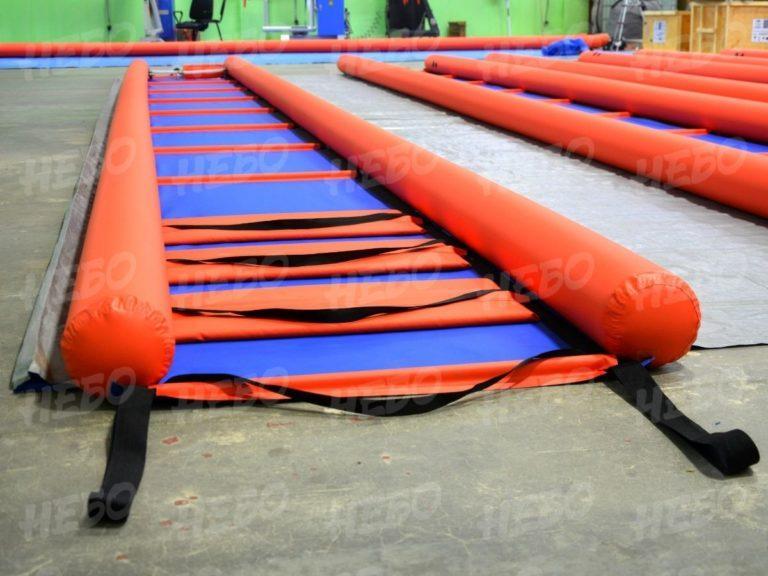 Надувное устройство спасения из ледяной полыньи (УСЛП) для МЧС, УСЛП, устройство спасения из ледовой полыньи,