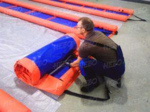 Надувное устройство спасения из ледяной полыньи (УСЛП) в свернутом виде