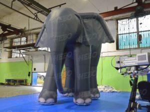 Надувной слон декорации