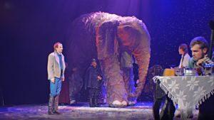 как слониха упала с неба, спектакль, видео