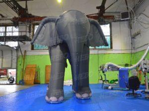 надувной слон для театра