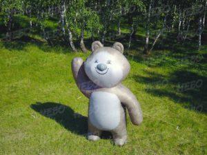 Аэрофигура надувной медведь