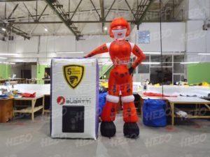 Надувная девушка робот