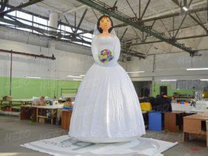 Надувная фигура Невеста