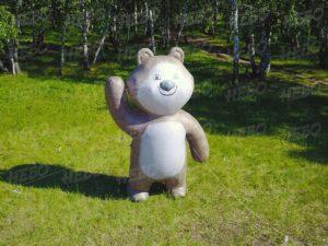 Надувная фигура медведь
