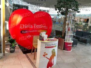 Надувное сердце Dieta Perfetta