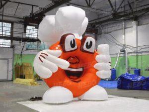 Надувной маскот пончик
