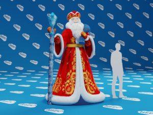 Дед Мороз надувной. надувная фигура дед мороз, надувной дед мороз