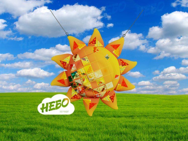 Надувное солнце, надувная фигура, надувной полумесяц, надувные фигуры на масленицу,, надувные декорации для театра, декорации для постановок, детские декорации, сказочные декорации