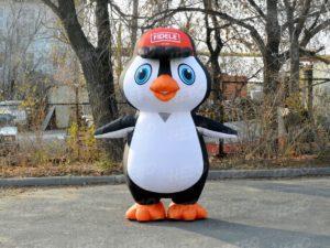 Надувной костюм Пингвин