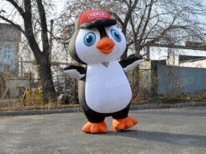 Надувной костюм Пингвина
