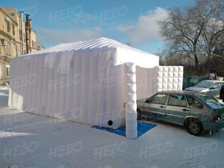 Надувной гараж – надувной павильон