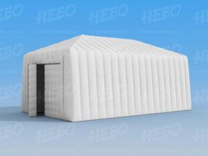 Надувной гараж – надувной павильон с прямыми стенками