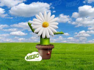 Надувной рекламный зазывала Цветок