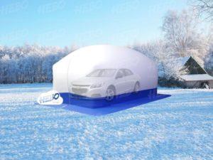 надувное укрытие для автомобиля