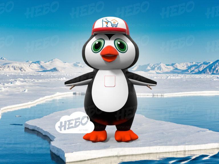 Пневмокостюм Пингвин, надувной пингвин. надувной костюм пингвин