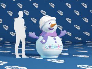 снеговик с брендированием – ЧТПЗ