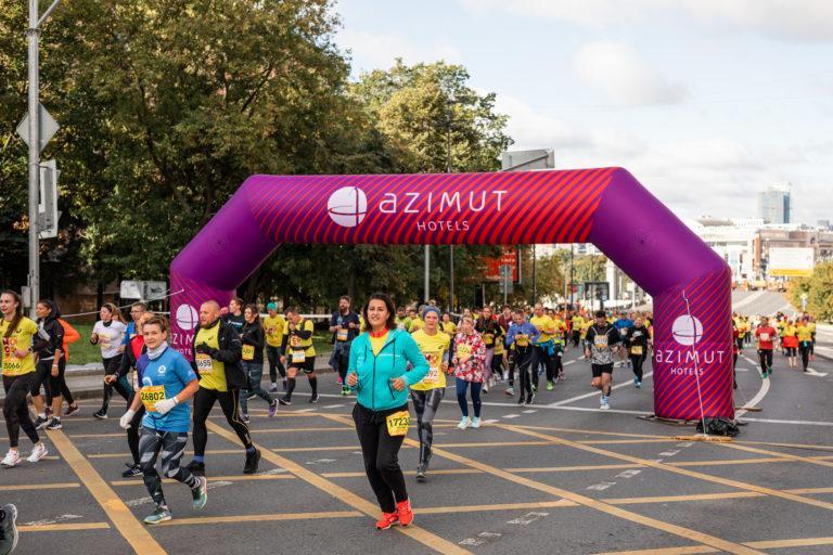 Надувная арка для марафона AZIMUT