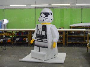 Надувная фигура Lego
