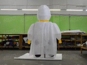 Надувная фигура Lego штурмовик Первого Ордена вид сзади