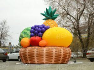 Надувная фруктовая корзинка