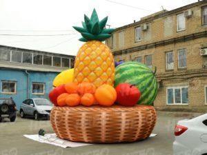 Надувная корзина с фруктами 5 метров