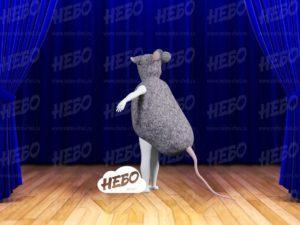 Надувной костюм Мышь