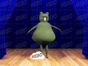Надувной костюм – Жаба