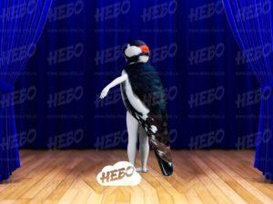 Надувной костюм птицы (Дятел)