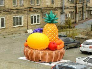 аэрофигура корзина с фруктами