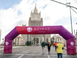 AZIMUT Надувная арка для марафона
