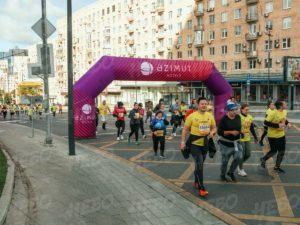 Надувная арка для марафона