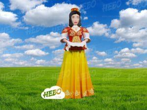 Надувная девушка татарка