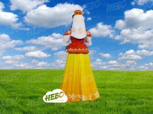 Надувная девушка татарка вид сзади