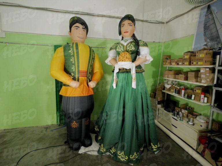 Надувные фигуры – Современные украшения на Сабантуй